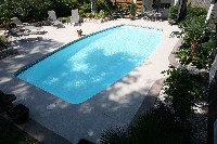 Majestic Fiberglass Pool in Glendale Springs, NC